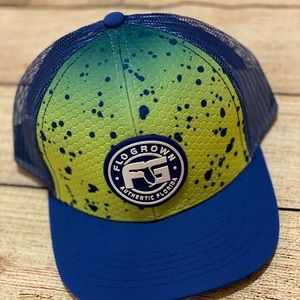 Youth Mahi Scales Crest Hat Flogrown SnapBack